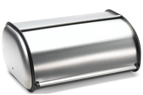 Brushed Stainless Steel Rolltop