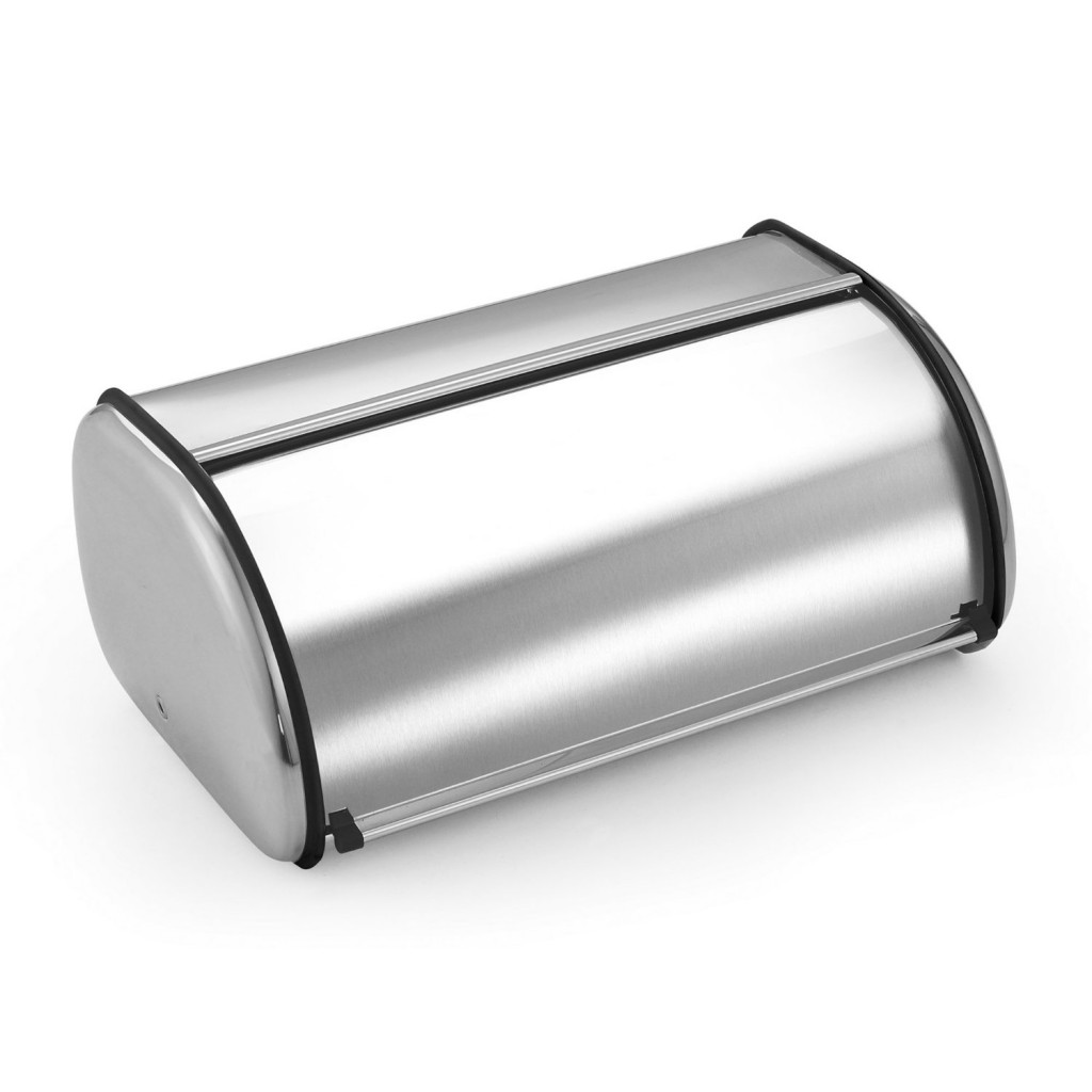 Cook N Home Stainless Steel Bread Box