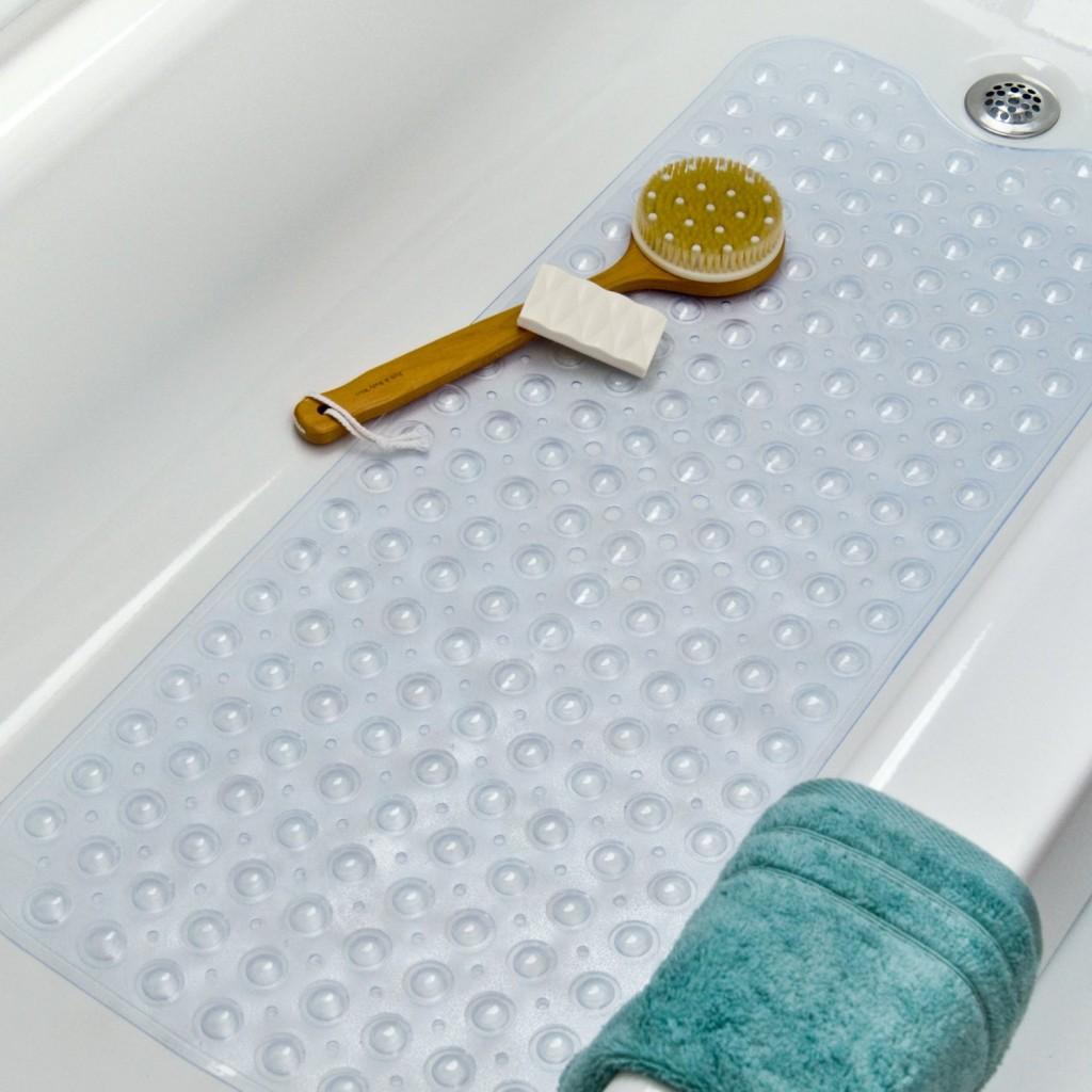 Extra Long Vinyl Bath Mat