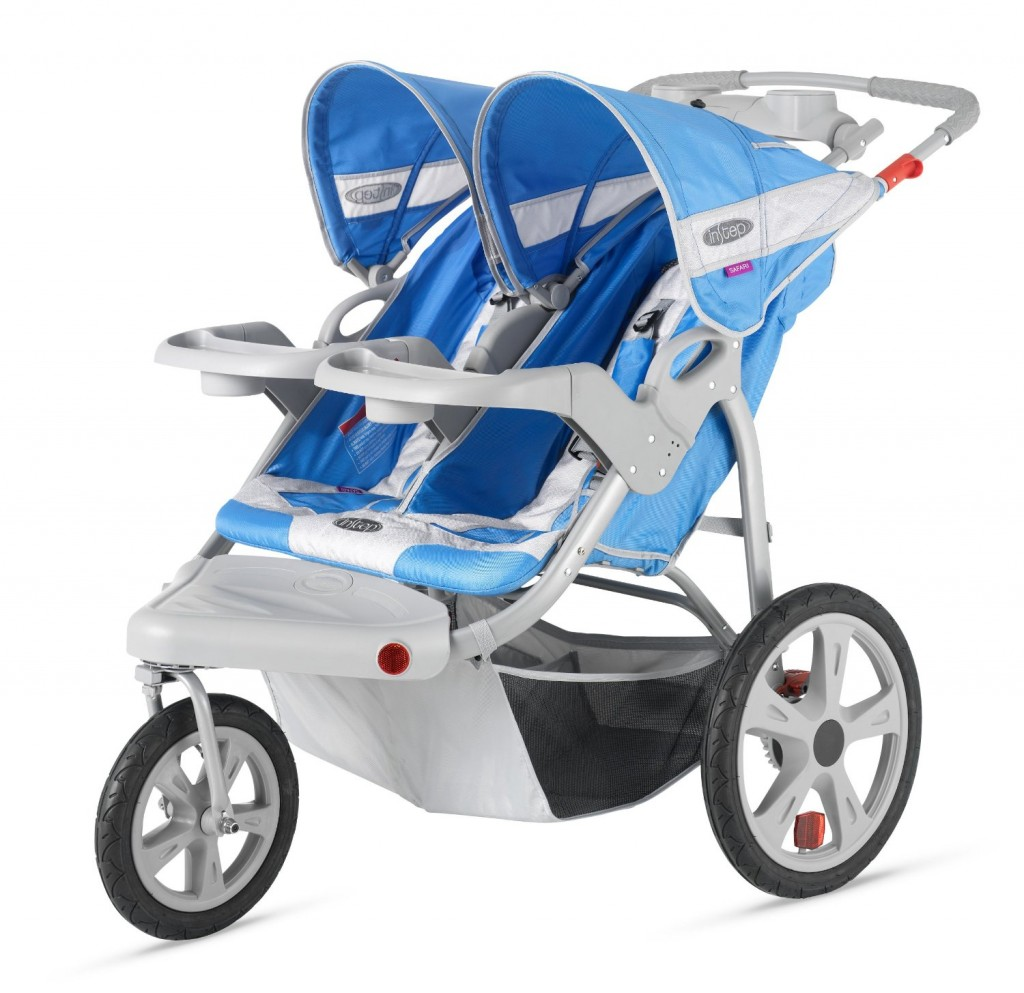 InStep Safari Double Swivel Stroller