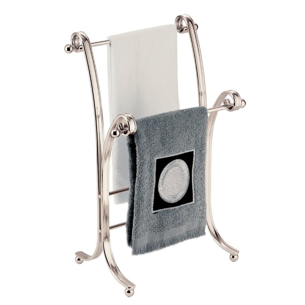 InterDesign York Lyra Hand Towel Rack