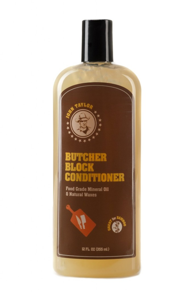 John Taylor Butcher Block Conditioner