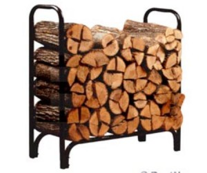 Panacea Log Rack - Ideal solution to keep your firewood dry and tidy