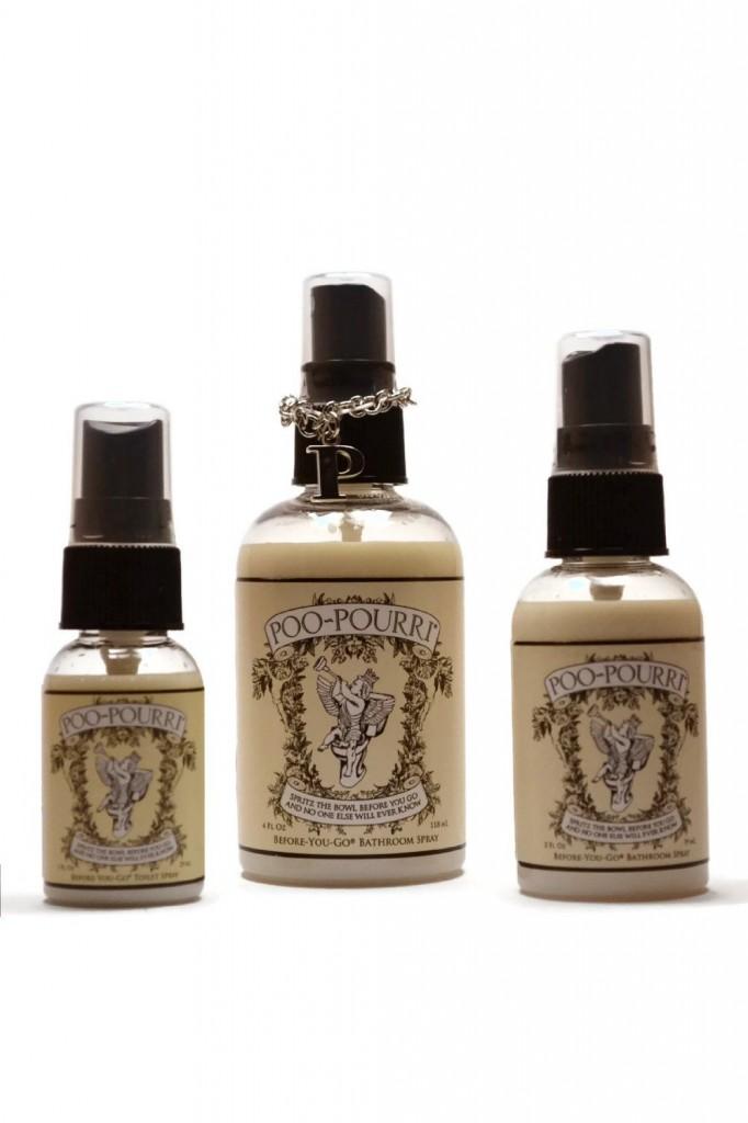 Poo-pourri 3-piece Bathroom Deodorizer Set