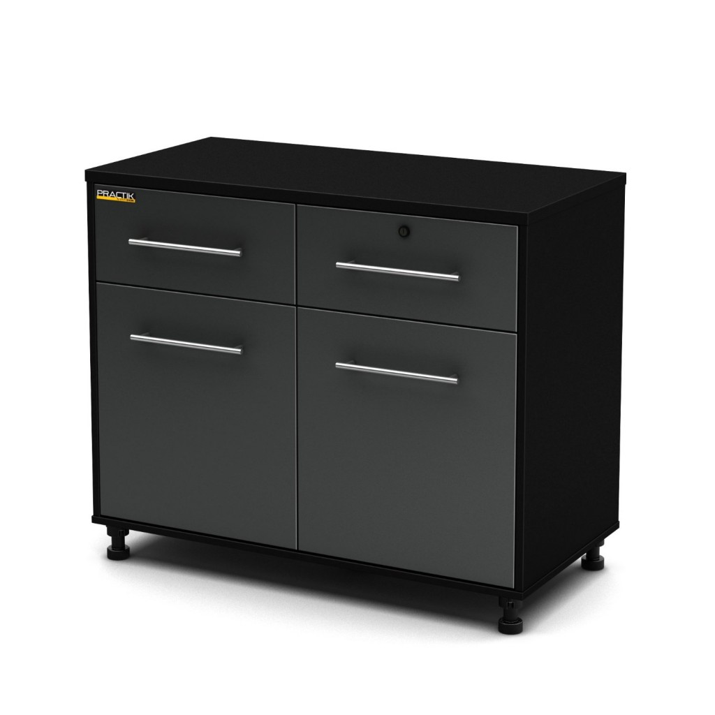 South Shore Karbon Collection Base Storage Cabinet