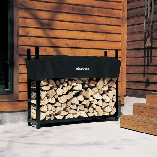 The Woodhaven 5-ft Firewood Log Rack