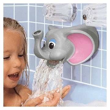 Tubbly Elephant Bubble Bath Dispenser