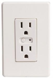 Wireless Lighting Control Duplex Receptacles
