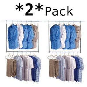Hanging Closet Rod - Great space saver for any closet