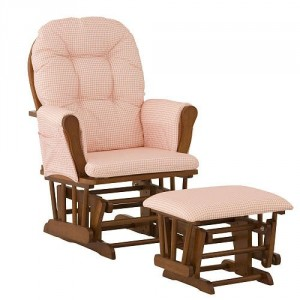 Glider and Ottoman for Nursery - Make feeding your baby easy and comfortable