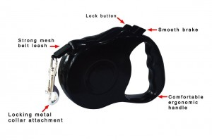 Retractable Dog Leash - Stop worrying about your dog's safety on roads