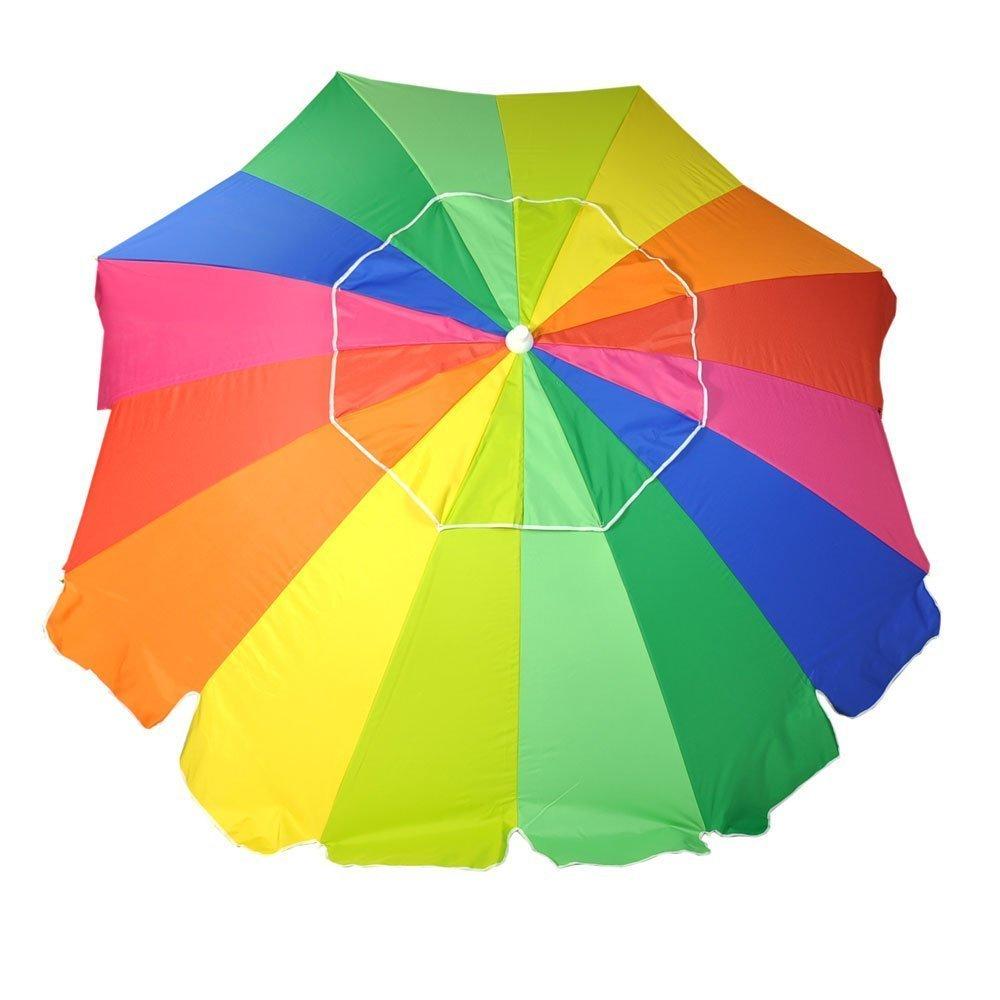 8ft Fiberglass Beach Umbrella