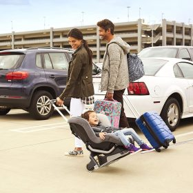 Best Car Seat Travel Cart