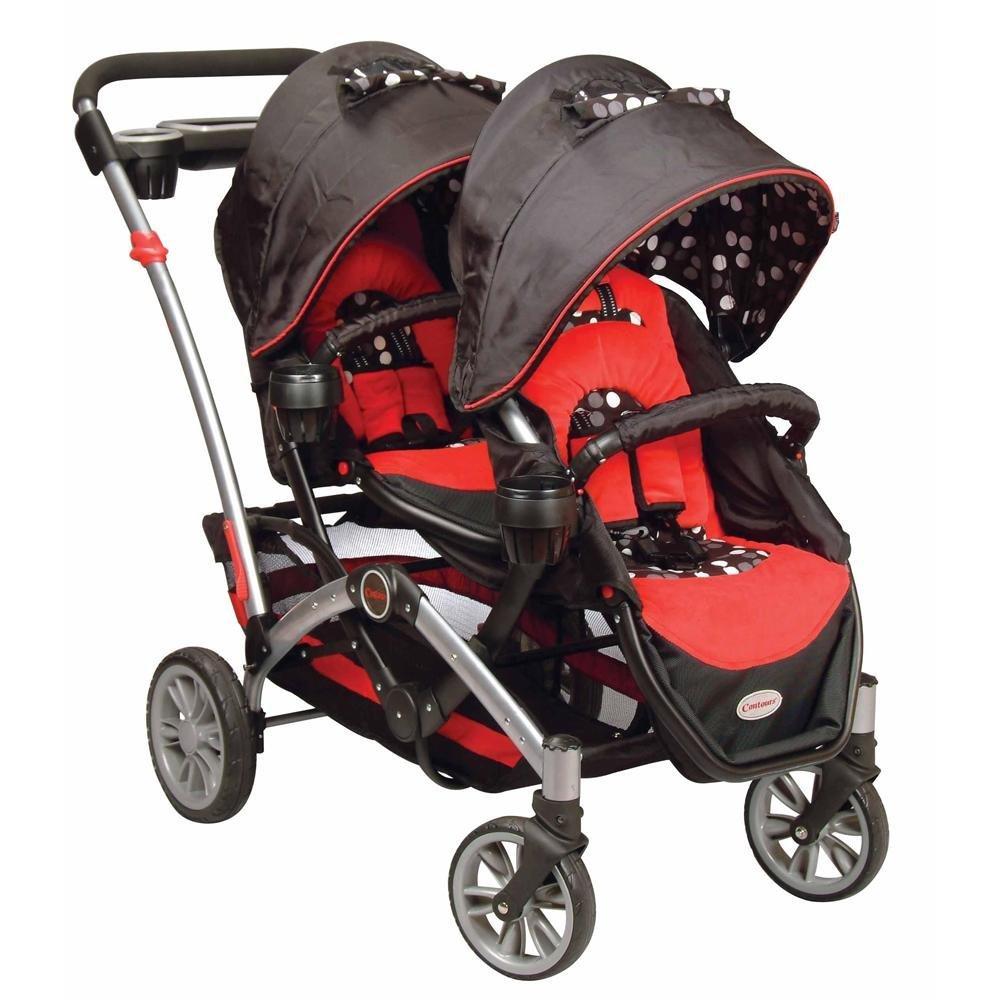Contours Optima Aluminum Tandem Stroller