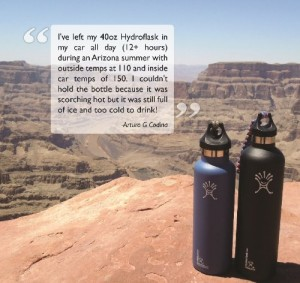Hydro Flask Insulated Water Bottle - Safe way to keep your hydrated