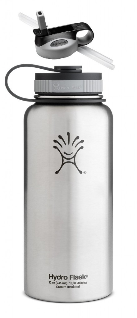 Hydro Flask Insulated Wide Mouth Stainless Steel 32-Ounce Water Bottle