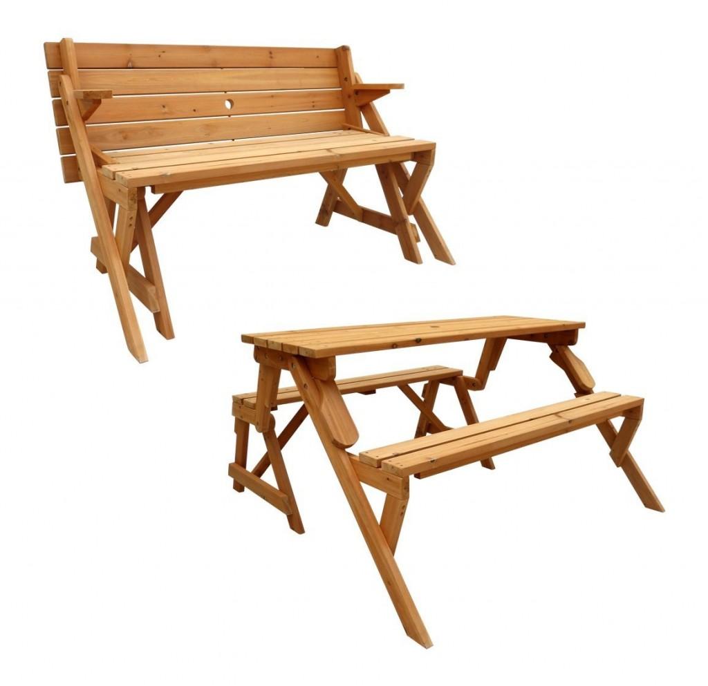 Leisure Season Folding Picnic Table