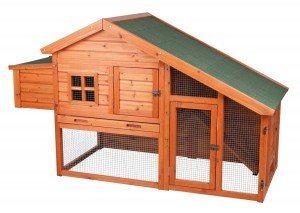 Outdoor Rabbit Hutch - Safe and secure home for your rabbit