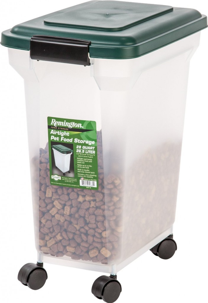 Remington Airtight Pet Food Storage