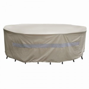 Round Fire Pit Cover - No more rain, snow and sun to damage your fire pit