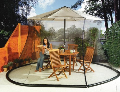 Umbrella Mosquito Net Canopy Patio