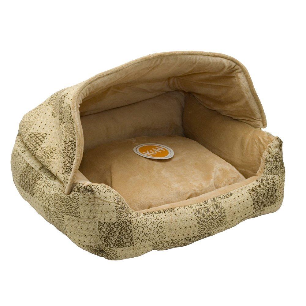K&H Lounge Sleeper Hooded Pet Bed