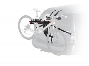 3-Bike Trunk Mount Rack - Easy and safe way to transport your bikes