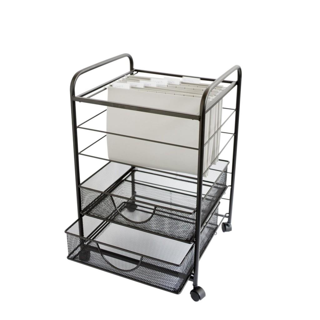 Design Ideas File Storage Cart