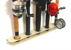 Fishing Rod Rack - Store your equipment up and out of the way
