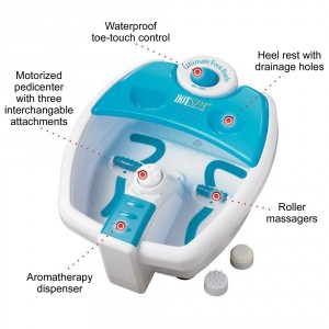 Heated Foot Bath Massager - Great reliever for your tired foot