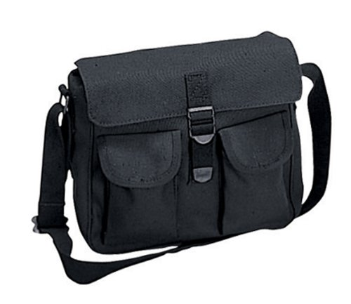 Military Cotton Canvas Ammo Shoulder Messenger Bag