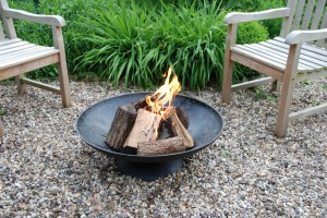 Outdoor Fire Bowl - Assure easy, leisurely, outdoor warmth and relaxation