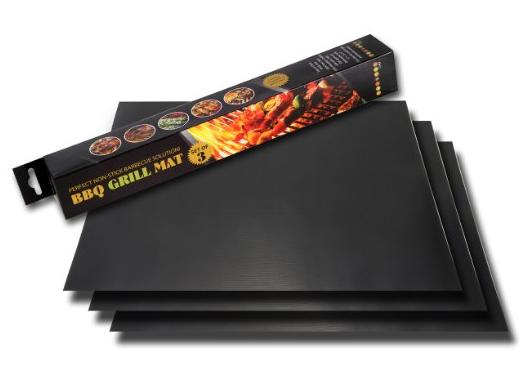 BBQ Grill Mat - Set of 3 Heat Mats