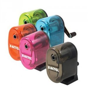 Manual Pencil Sharpener - Sharpening is much easier now