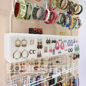 Wall Mount Jewelry Organizer - Beautifully organize your whole collection of jewelry