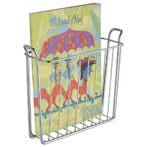 Wall Mount Magazine Rack - Easy solution to keep magazines organized