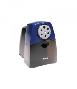 X-Acto Electric Pencil Sharpener - Safe, fast, and sharpens quietly