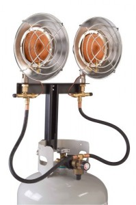 Century 28,000 BTU Double Head Heater