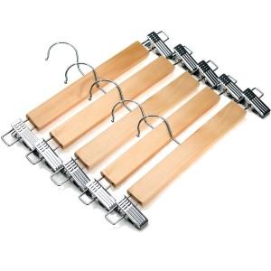 J.S. Hanger®Natural Wood Skirt Hangers