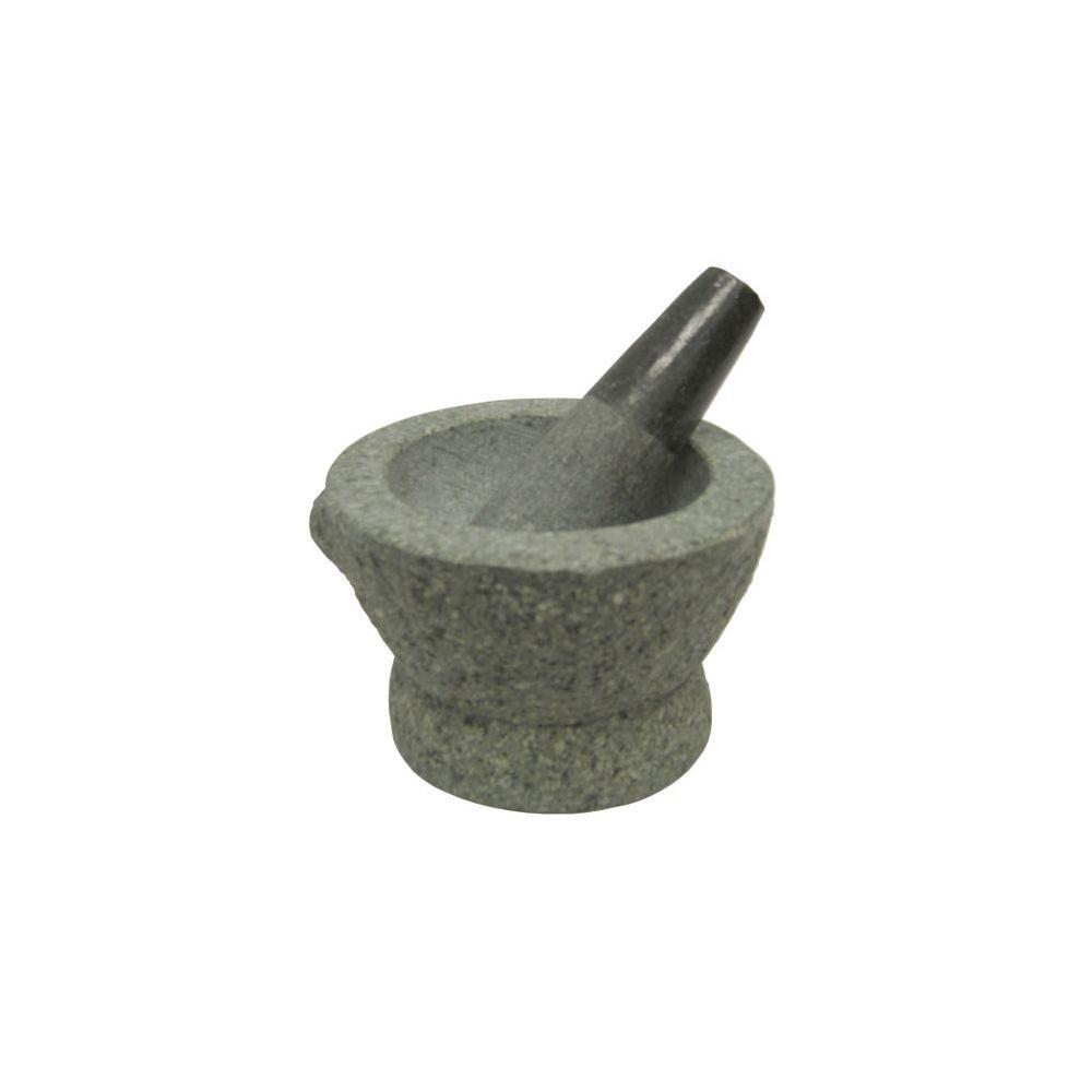 Libertyware 8 Inch Stone Granite Mortar