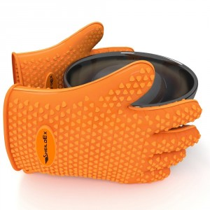 Silicone Oven Gloves - Provide protection for anyone who enjoys cooking