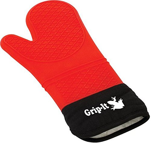 Silicone Oven Mitt and Potholder
