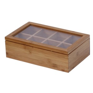 Tea Storage Box - Keep your tea collection and assortment organized