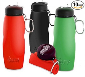 Collapsible Water Bottle - Fun, functional, convenient gift for you