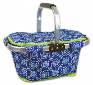 DII Insulated Market Basket or Picnic Tote
