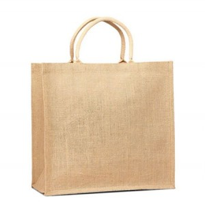 Eco-Friendly Reusable Large Natural Grocery Tote Jute