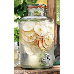 Home Essentials 2.15 Gallon Nantucket Drink Dispenser