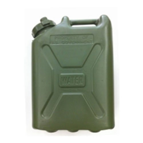 Plastic Water Can - 5 Gallon