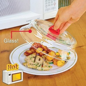 11 Microwaveable Glass Plate Cover