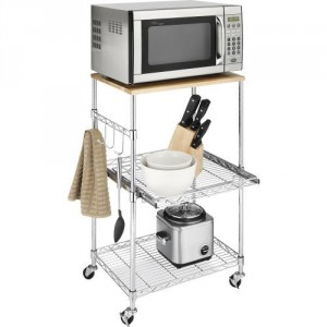 5 Best Microwave Cart – Keep your kitchen organized while saving your counter-top space